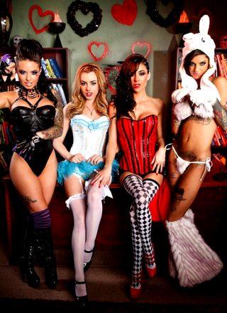 Wonderland Part 2 – Bonnie Rotten Christy Mack Gia Dimarco Lexi Belle – Pornstars Like It Big